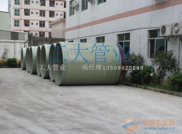 广东玻璃钢夹砂顶管特点