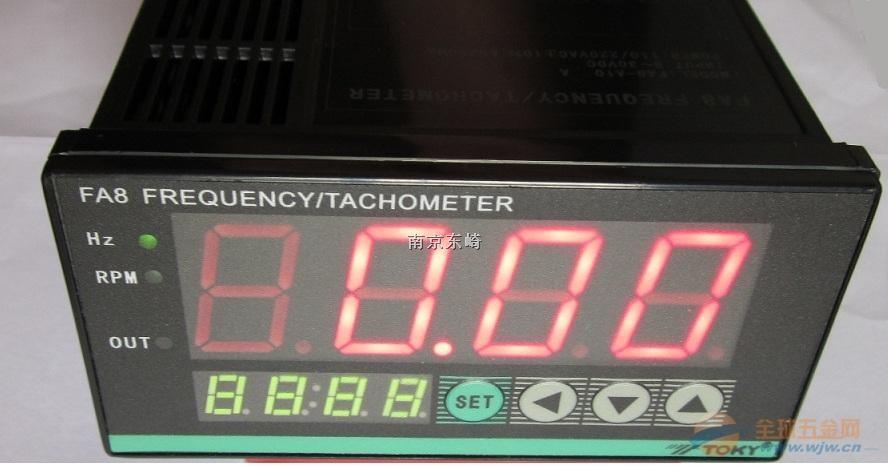 东崎 TOKY FA8-A10 频率表 工频测量仪表