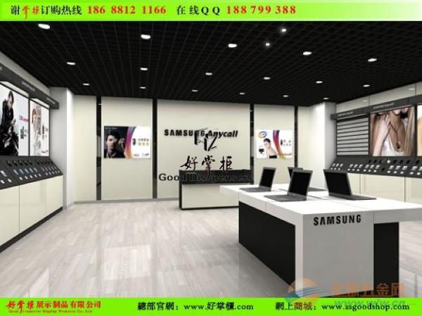 三星 手机体验店 效果图 手机 展示 柜台 三星 手