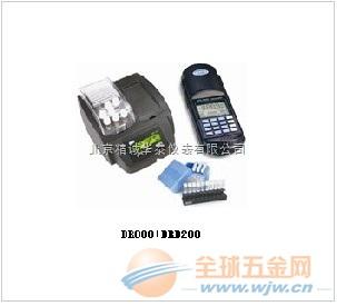 供应哈希DR890+DRB200型便携式COD/氨氮/总氮/总磷/多参数测定仪