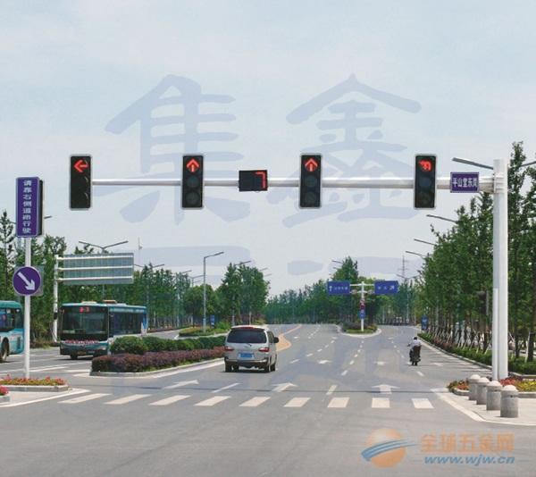 等边八角悬臂信号灯杆,八棱信号灯杆特点,XT-003