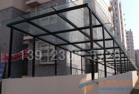 江门小区玻璃雨棚|江门小区玻璃雨棚厂家|江门小区玻璃雨棚公司