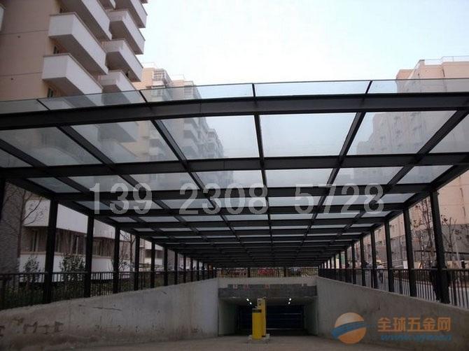 江门小区雨棚安装