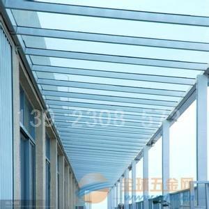 江门玻璃雨棚效果图