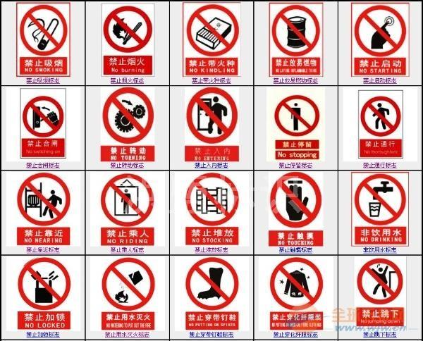 安全标识牌 交通安全标志牌