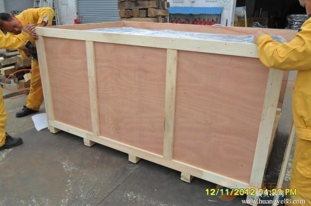 上海闵行松江奉贤木箱包装厂定制免熏蒸木箱包装物流钢带箱