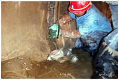 电梯井口渗漏水堵漏维修