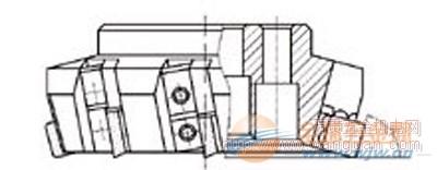 成都关中工具 可转位阶梯面铣刀 材质 型号 配件
