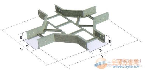 广丰桥架 梯式水平等径四通XQJ-T-4A 成都直销 物美价廉