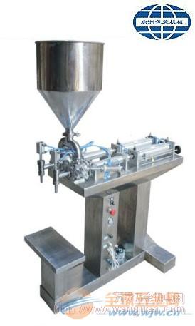 气动双头(落地式)膏体定量灌装机械