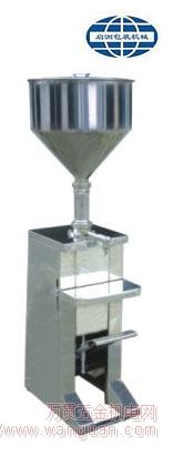 成都销售膏体灌装机脚踏半自动膏体定量灌装机械