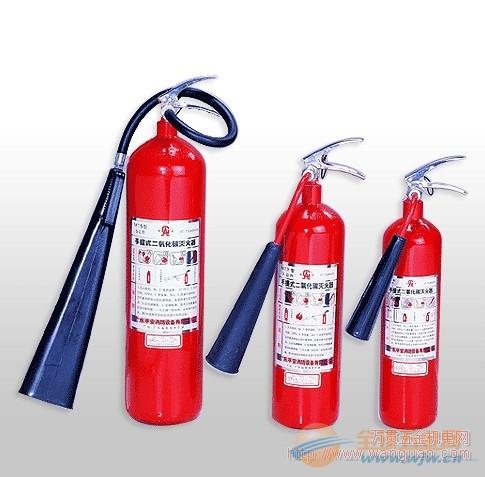 四川川消消防消防器材二氧化碳灭火器