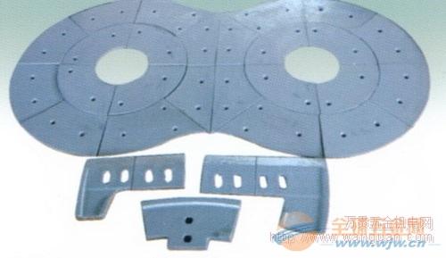 四川工程机械叶片 仕高玛MEO3000/2000型衬板叶片