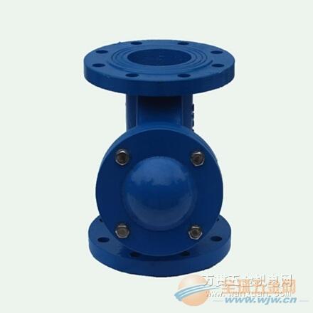 成都止回阀厂家 四川球型污水止回阀hq41x-16价格便宜图片