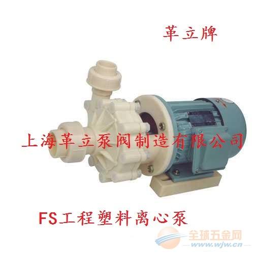 FS32-25-100耐腐蚀塑料离心泵