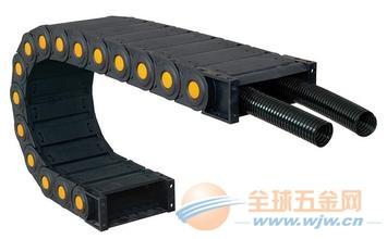 弯曲塑料拖链 双向塑料电缆