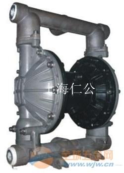 上海仁公气动铝合金隔膜泵RG40、不锈钢气动隔膜泵、PVDF气动隔膜泵
