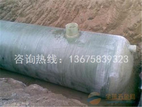 凤台县4立方 2号 玻璃钢化粪池工作原理