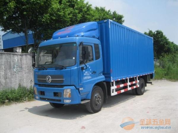 东风 天锦中卡 180马力 4X2 厢式载货车(底盘)