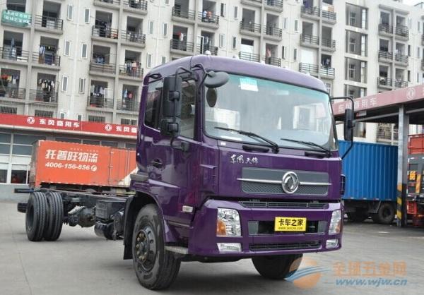 东风 天锦中卡 185马力 4X2 载货车(底盘)
