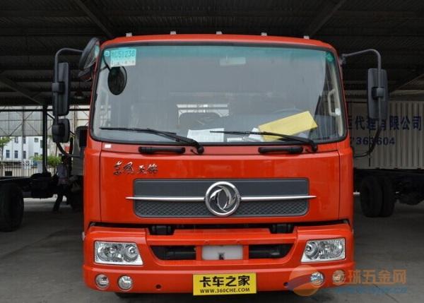 东风 天锦中卡 140马力 4X2 载货车(底盘)
