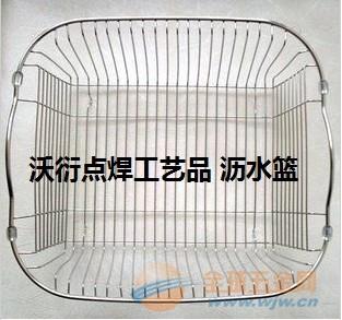 镀锌网篮 浸塑网篮 不锈钢网篮 超市货筐 金属购物筐