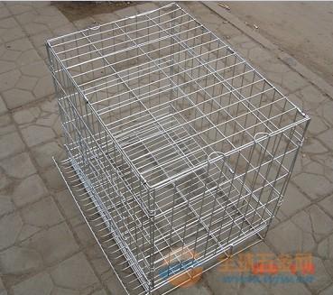 折叠式宠物笼 鸟笼 喷塑狗笼 方管狗笼 运输笼 大中小型号齐全 方管狗笼价格