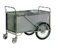厂家供应不锈钢送物车 医用不锈钢送物车 医用推车 被服车