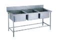 广东厂家直发三槽洗涤台 医用不锈钢洗涤台