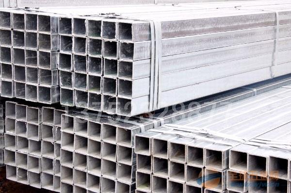 冷鍍鋅方管廠家報價