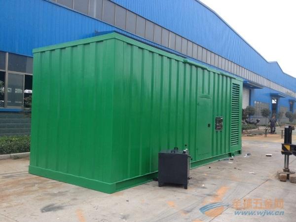 合肥1000KW玉柴集装箱发电机组 工地专用