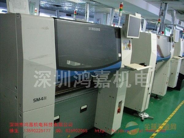 出售2010年韩国原装进口三星二手SM411贴片机三台(现货)