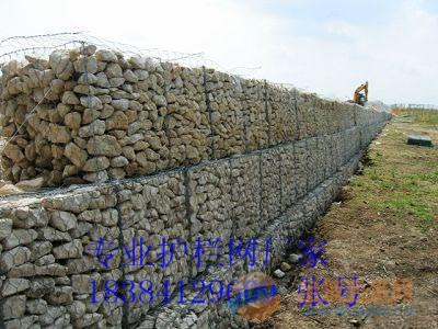 桥梁防护石笼网,鱼塘石笼网,花园石笼网