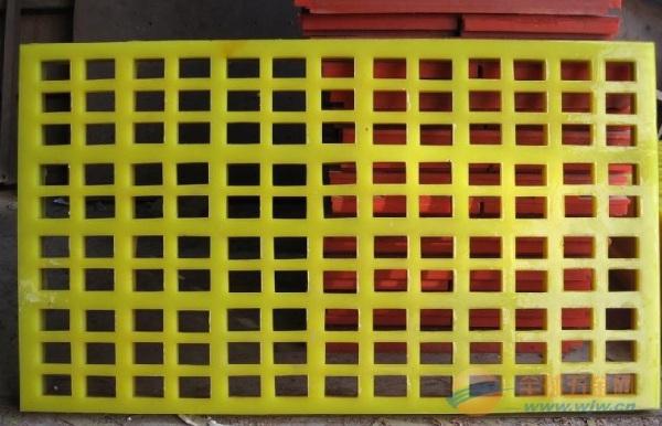 宏达聚氨酯条缝筛质量