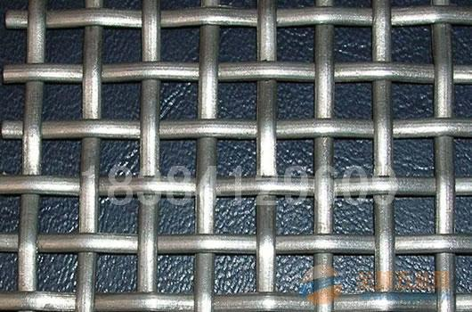 漯河沙场专用钢丝网-黑钢轧花网-方眼网