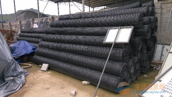 来宾凸结点玻纤塑料土工格栅厂家直销