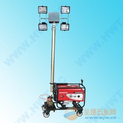 施工应急照明灯-野外工程施工照明灯-施工发电移动应急工作灯