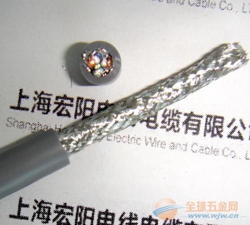 供应东莞双屏蔽超五类耐弯曲拖链电缆