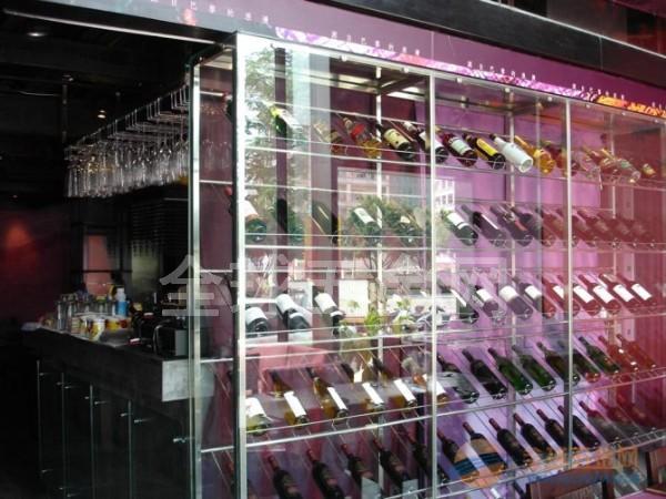 东莞专业生产不锈钢酒柜的厂家 不锈钢酒柜价格 不锈钢酒柜设计