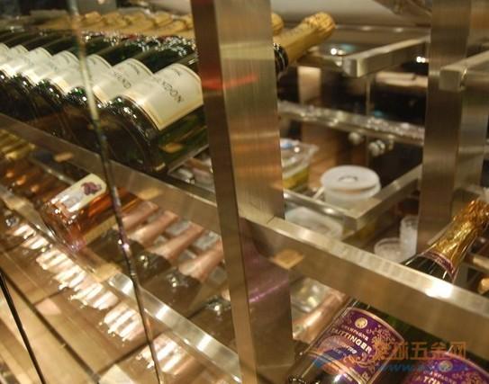 不锈钢酒柜工艺 不锈钢酒柜价格 不锈钢酒柜厂家