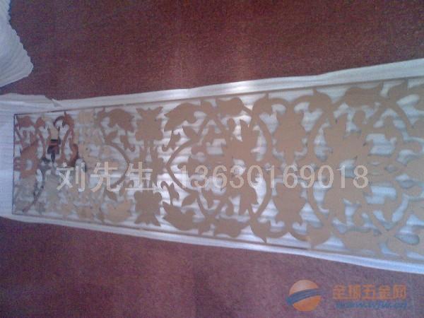 广东不锈钢镂空花格,不锈钢雕花隔断,不锈钢激光雕花腰线