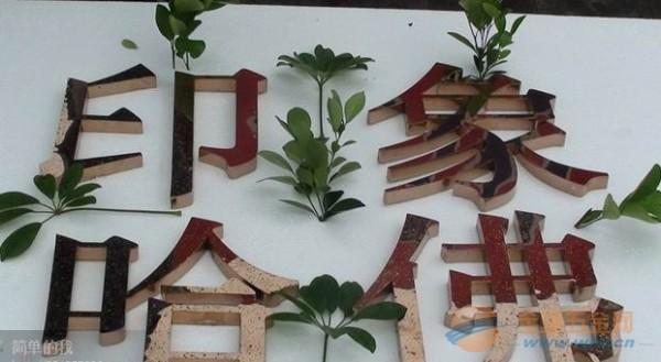 精美不锈钢艺术字 不锈钢招牌字制作中心 不锈钢包边字加工