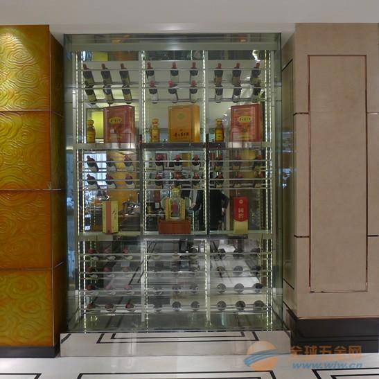 不锈钢酒柜的设计 不锈钢酒柜的生产厂家