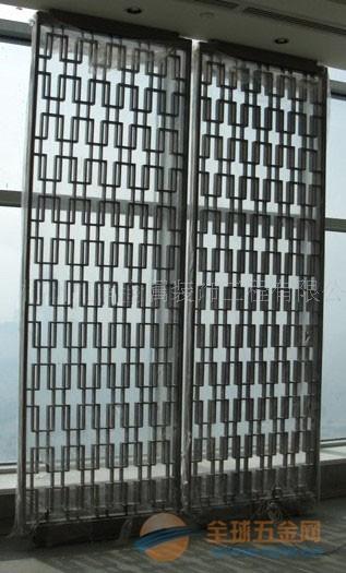 佛山古铜不锈钢屏风规格 不锈钢屏风资讯 酒店不锈钢花格价格参考