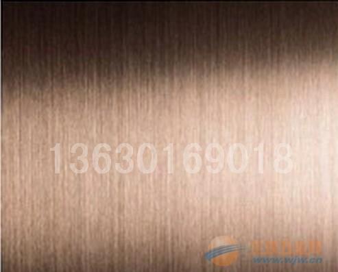 苏州咖啡色不锈钢板,不锈钢拉丝板加工,不锈钢彩板加工
