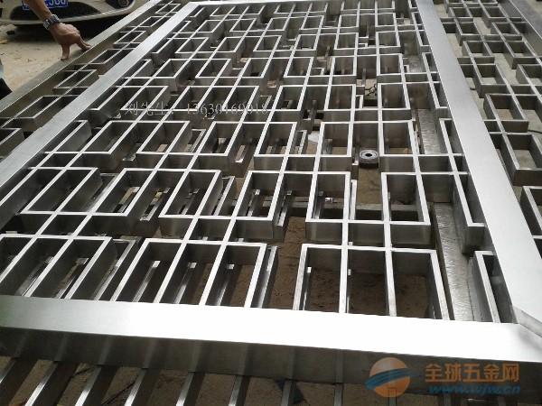 中式不锈钢屏风