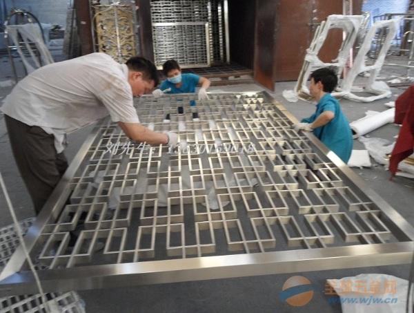 不锈钢屏风电镀前清洁,不锈钢屏风需清洁干净才能电镀