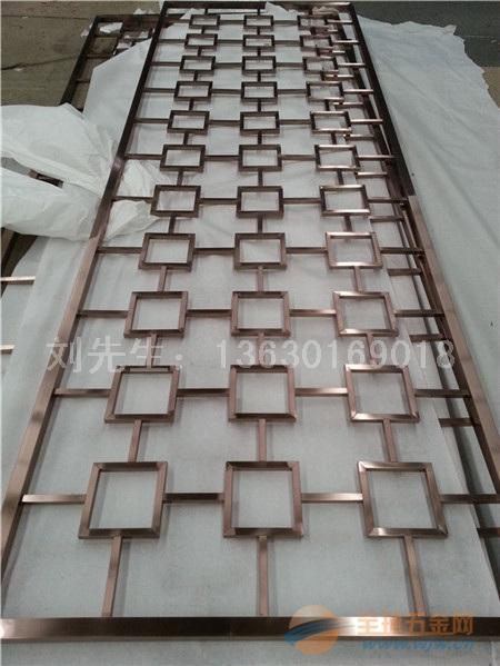 江苏南京不锈钢花格加工,不锈钢花格制作中心