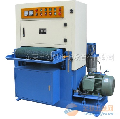 自动铝板拉丝机-平面拉丝机