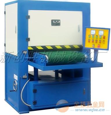 钛板自动拉丝机-航空船舶产品专用拉丝机